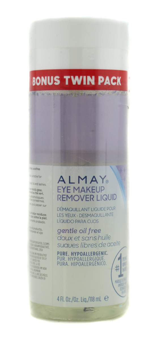Almay Eye Makeup Remover Liquid 4oz - 2 pack