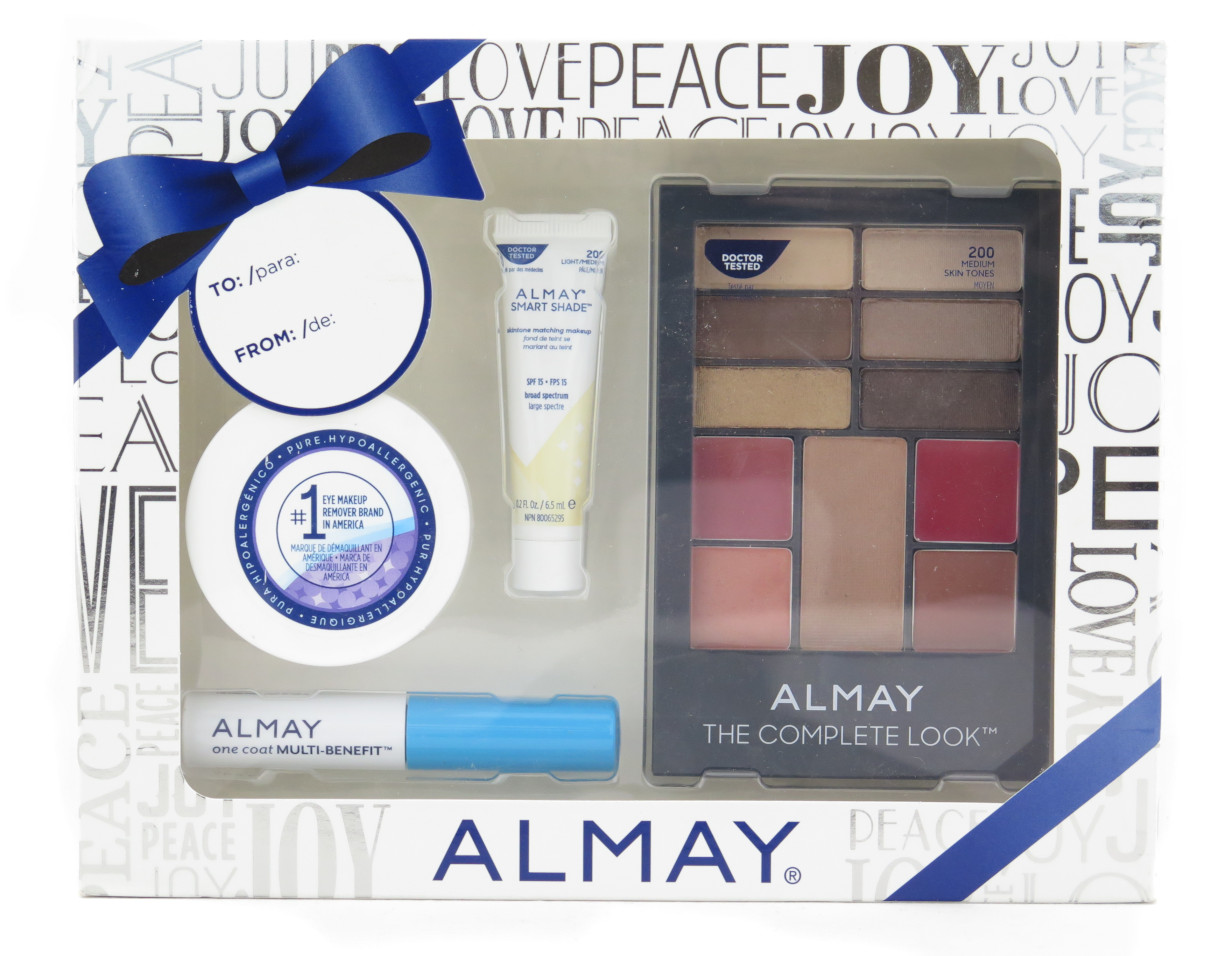 Almay Deluxe Gift Set - Complete Holiday Look (Gift set of 4 pcs)