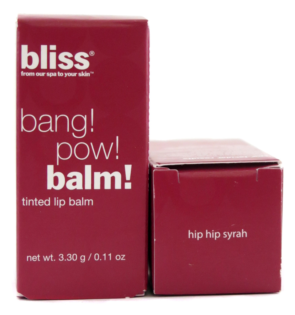 Bliss Bang! Pow! Balm! Tinted Lip Balm - Assorted