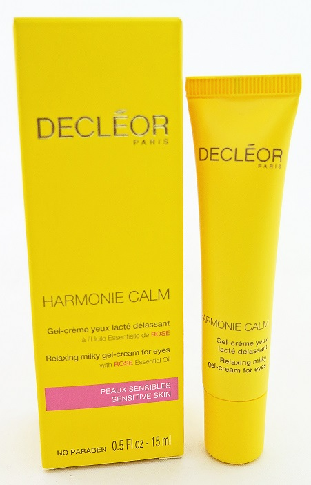 Decleor Harmonie Calm Relaxing Milky Gel Cream For Eyes 15mL