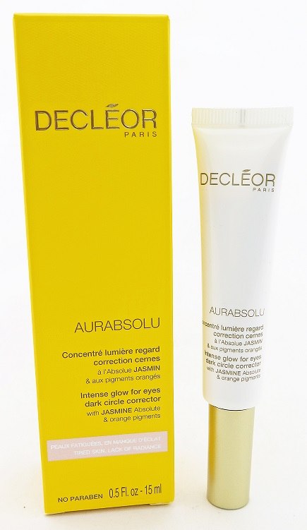 Decleor Aurabsoul Intense Glow For Eyes Dark Cicle Corrector15mL