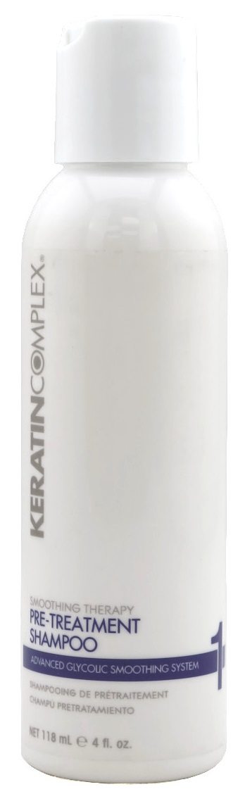 Keratin Complex Smoothing Therapy Advanced Glycolic Smoothing System 1 Pre-Treatment Shampoo 4 oz.