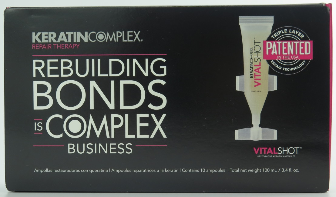 Keratin Complex Repair Therapy Vitalshot Bond Rebuilder .33 oz (10 pack)