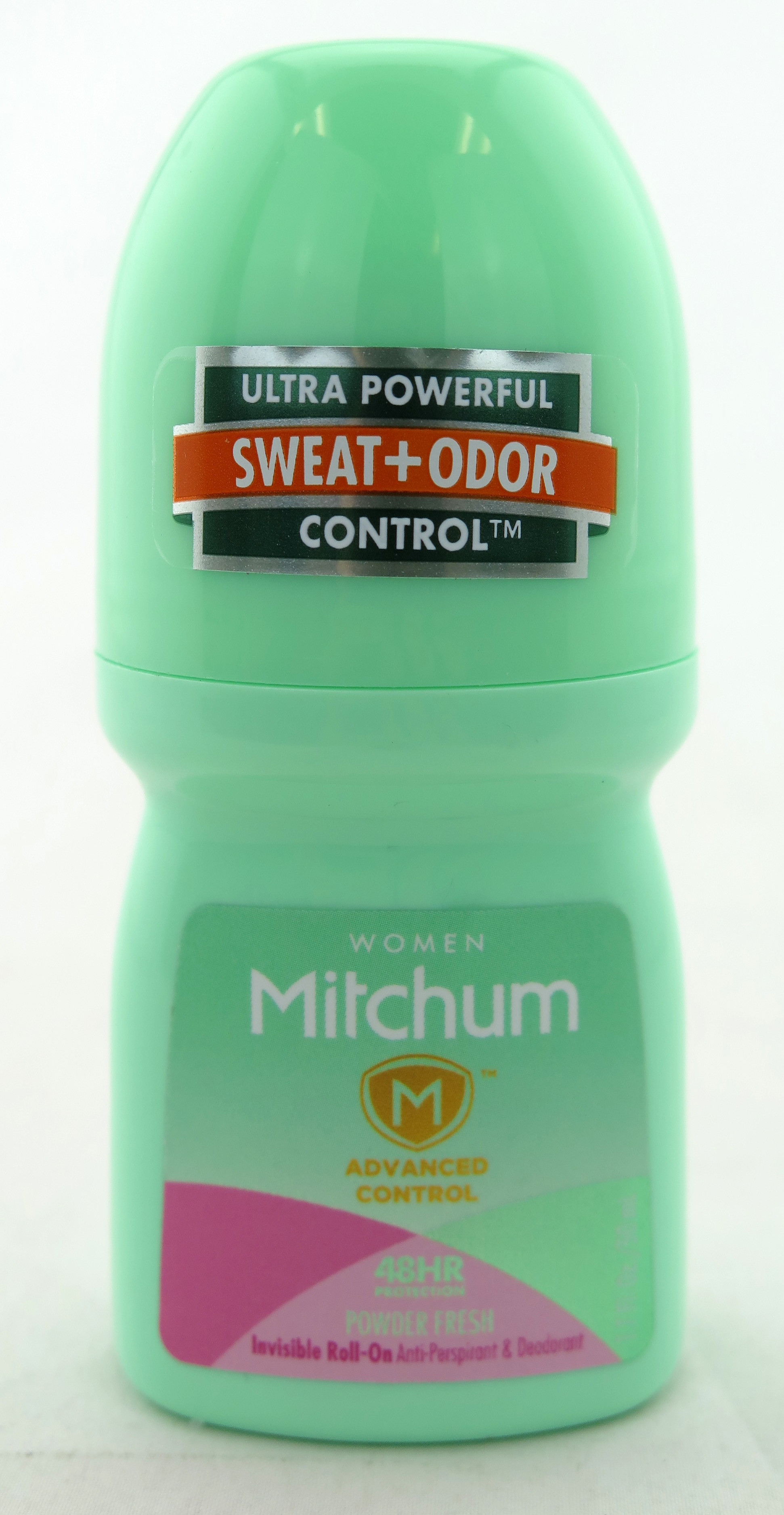 Mitchum Advanced Control Invisible Roll-On Anti-Persperant & Deodorant - For Women - Powder Fresh 1.7 oz