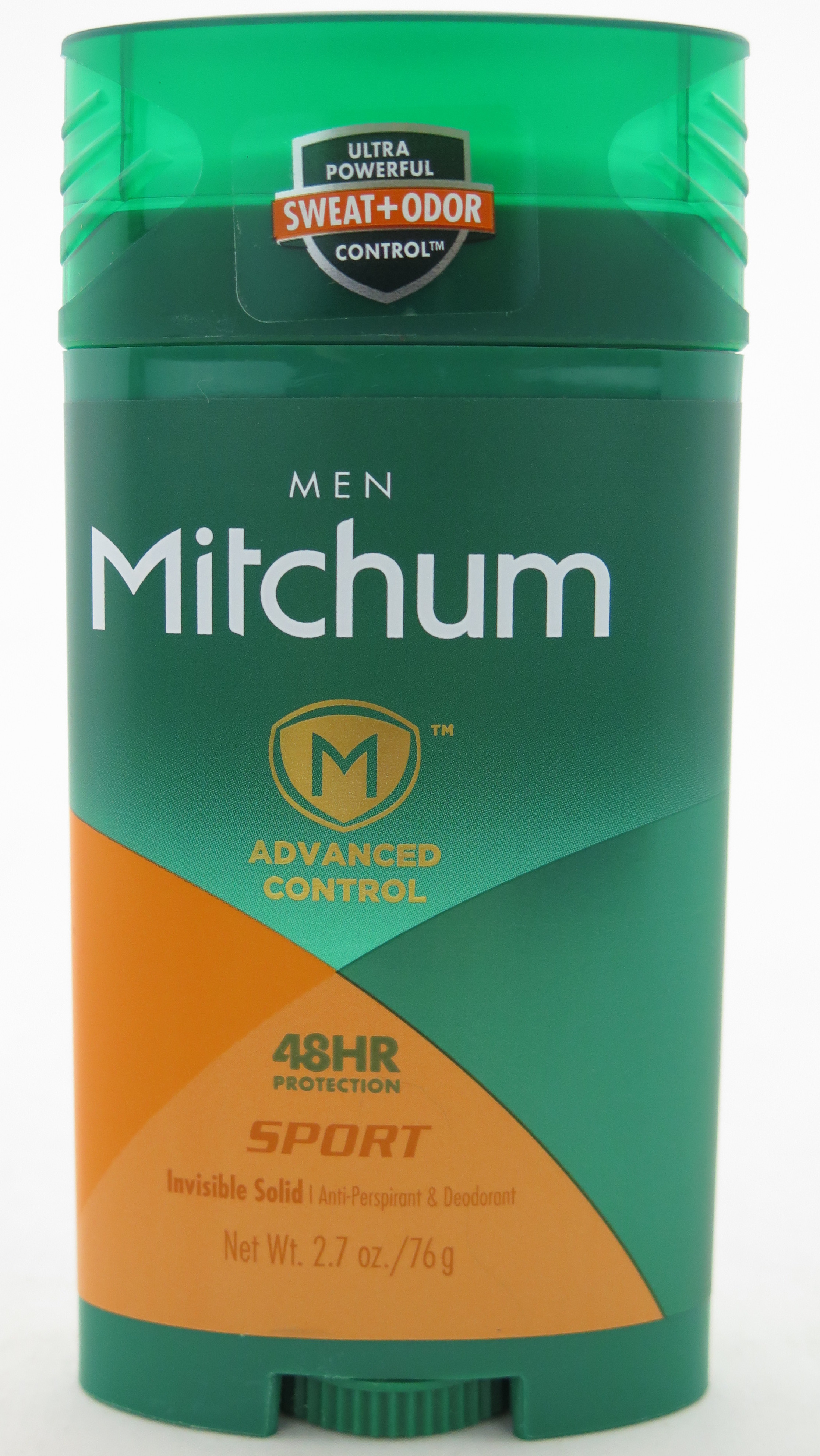 Mitchum Advanced Control Invisible Solid Anti-Persperant & Deodorant - For Men - Sport 2.7 oz