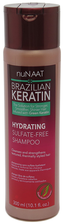 BK Hydrating Shampoo - Cleanses & Strengthens Textured, Thermally Styled Hair 10.1 fl oz