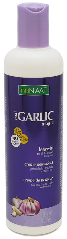 nuNaat Garlic Magic Leave-in. For All Hair Types 10.5 oz