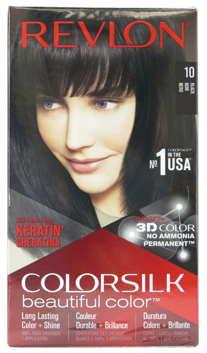 Revlon Colorsilk Beautiful Color Hair Color 3D Color Technology  - Assorted #6581-00