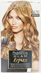 L'Oreal Paris Superior Preference Glam Lights - Brush On Highlights - GL70 - For Dark Blonde To Light Brown Hair