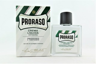 Proraso Liquid Cream After Shave with Eucalyptus Oil and Menthol 100mL (3.4 fl. oz.)