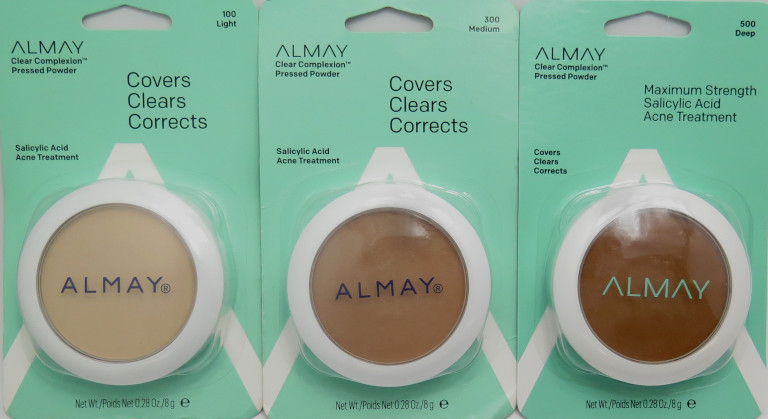 Almay Clear Complexion Pressed Powder Maximum Strength Salicylic Acid Acne Treatment - Assorted #8693-00