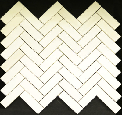 "Dolomite Polished Herringbone 1"" x 3"" (BAY0041)"