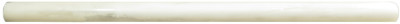 "Statuary Calacatta Honed 1/2"" Pencil (BAY0146)"