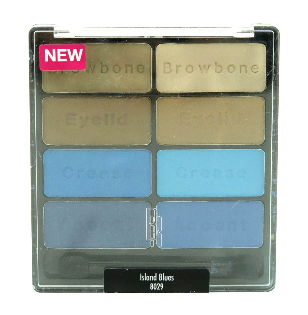 Black Radiance Eye Appeal Shadow Collection Palette - 8029 Island Blues