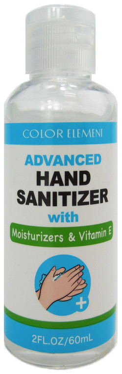 Color Element Hand Sanitizer with Moisturizers & Vitamin E - 2 oz.