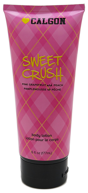 Calgon Body Lotion Sweet Crush - Pink Grapefruit and Peach (6 Fl. Oz. / 177mL)