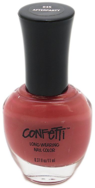 Confetti Long Wearing Nail Color - Assorted