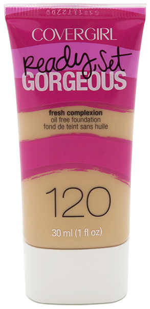 CoverGirl Ready Set Gorgeous Fresh Complexion Oil Free Foundation - Assorted