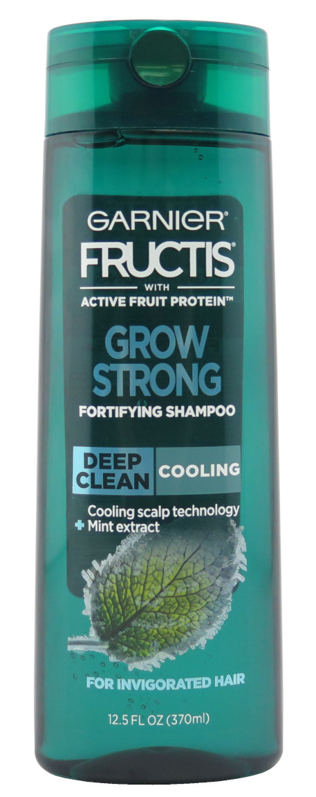 Garnier Grow Strong Cooling Deep Clean Shampoo 12.5 oz