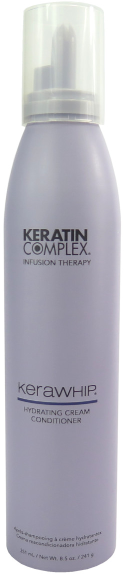 Keratin Complex KeraWhip Infusion Therapy Hydrating Cream Conditioner Mousse 8.5oz