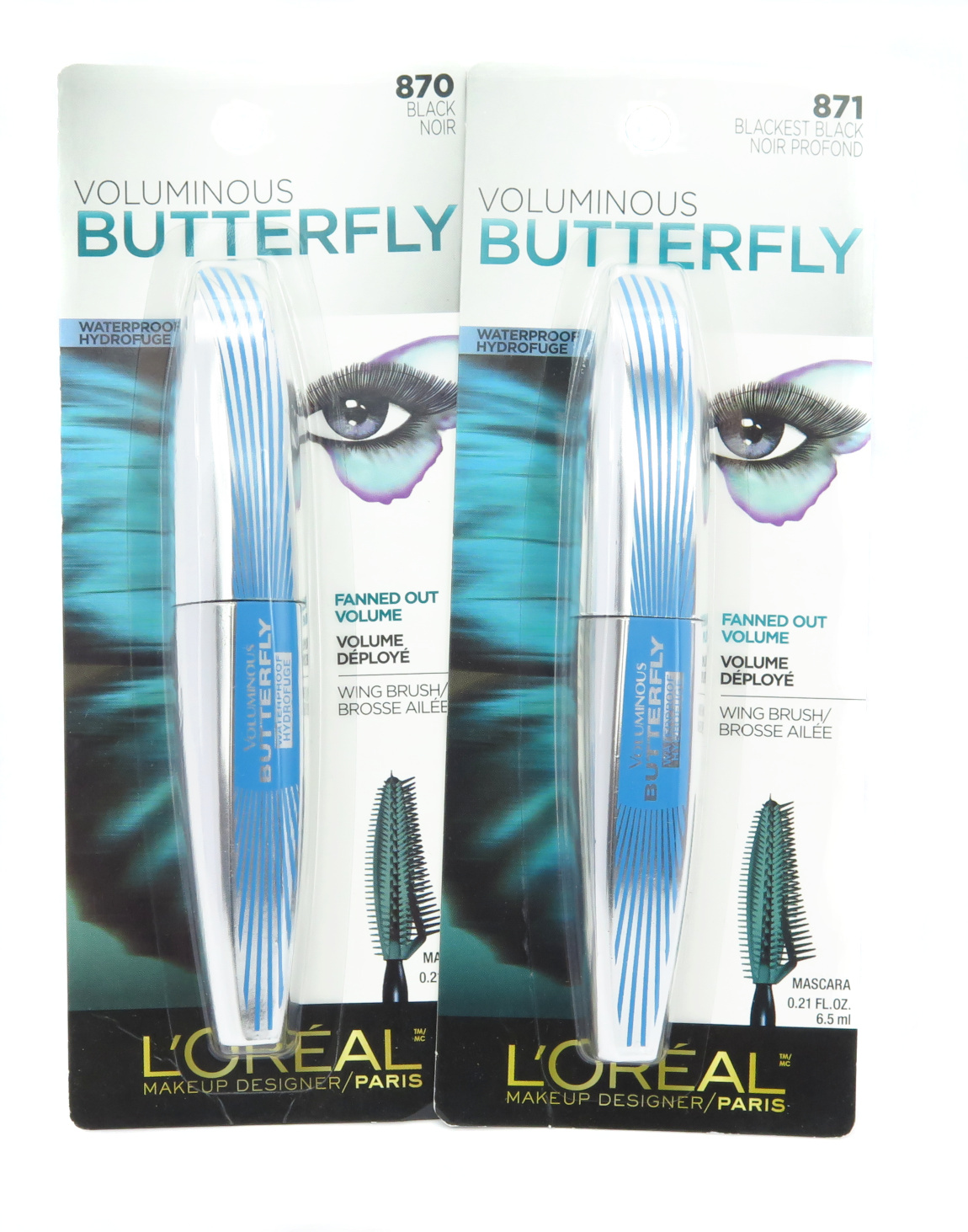 L'Oreal Voluminous Butterfly Waterproof Mascara - Assorted