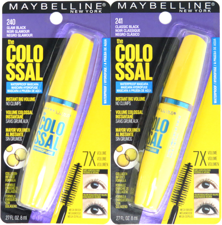 Maybelline The Colossal Volume Express Waterproof Mascara - Assorted