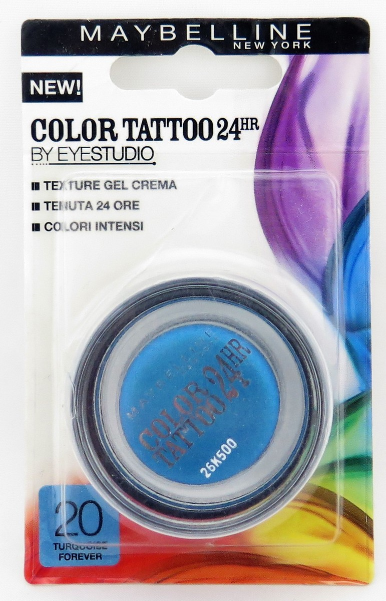 Maybelline Eye Studio Color Tattoo Eyeshadow - Assorted
