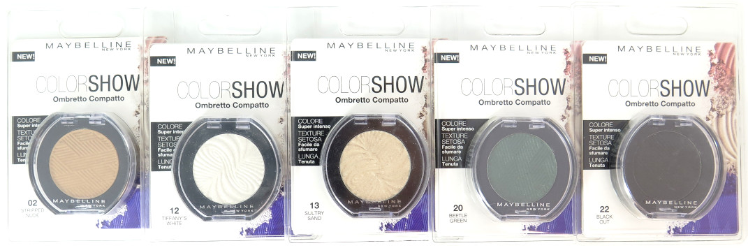 Maybelline Color Show Eyeshadow - Assorted