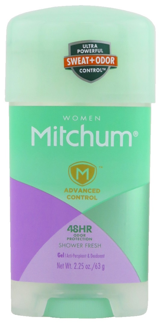 Mitchum Advanced Control Anti-Perspirant & Deodorant Gel - For Women - Shower Fresh 2.25 oz