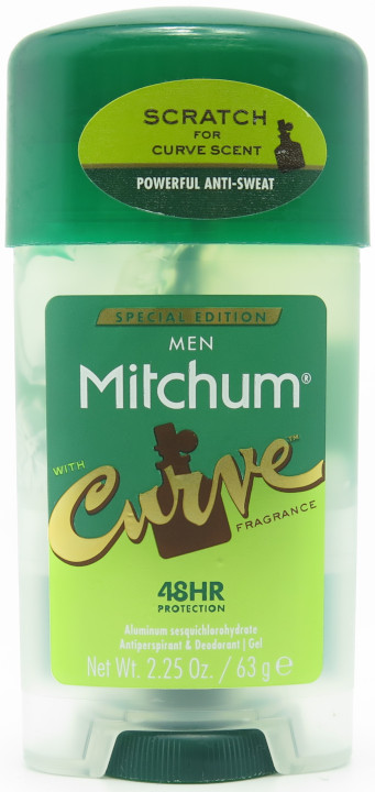 Mitchum Anti-Perspirant & Deodorant Gel with Curve Fragrance for Men 2.25 oz