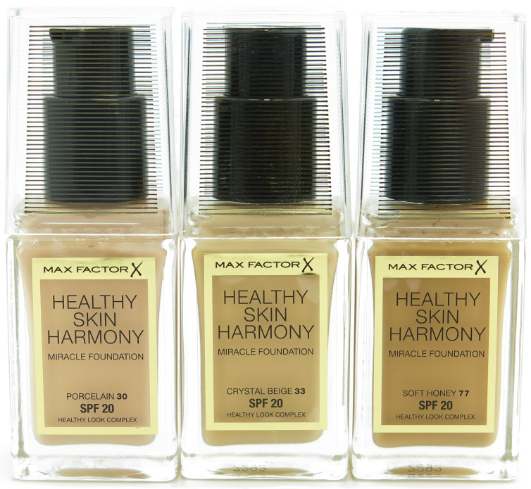 Max Factor Healthy Skin Harmony Miracle SPF 20 Foundation - Assorted
