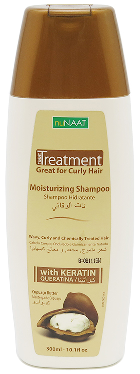 nuNaat Treatment Shampoo Great For Curly Hair 10.1 fl oz