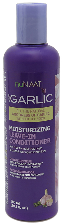 nuNaat Garlic Leave in Conditioner 10.1 fl oz