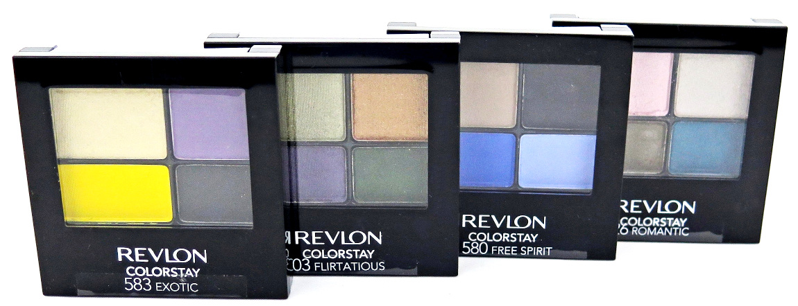 Revlon ColorStay 16 Hour Eye Shadow Quad - Assorted
