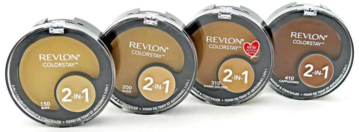 Revlon ColorStay 2-In-1 Compact Makeup & Concealer - Assorted
