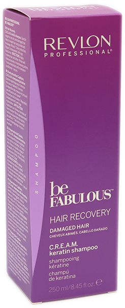 Revlon Be Fabulous Recovery Cream Wash 250 mL