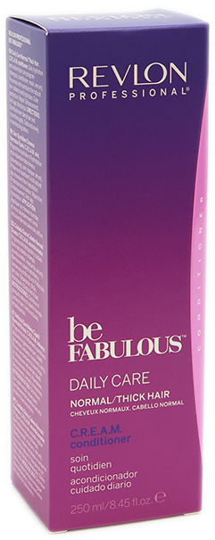 Revlon Be Fabulous Daily Cream Conditioner 250mL