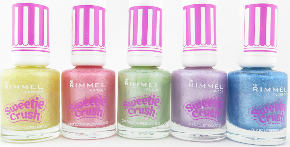 Rimmel Sweetie Crush Textured Nail Polish - Assorted