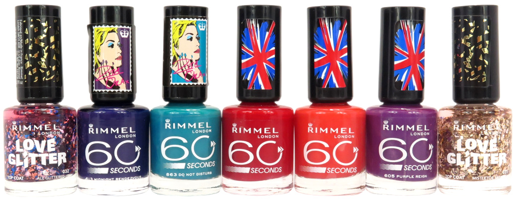 Rimmel Nail Polish - Assorted
