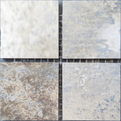 "Blue Diamond Porcelain Mosaic Polished Square 2"" x 2"" (SFD042)"