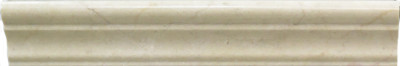 "Crema Marfil Marble Liner Polished Crown Molding 2"" x 12"" (SFD165)"