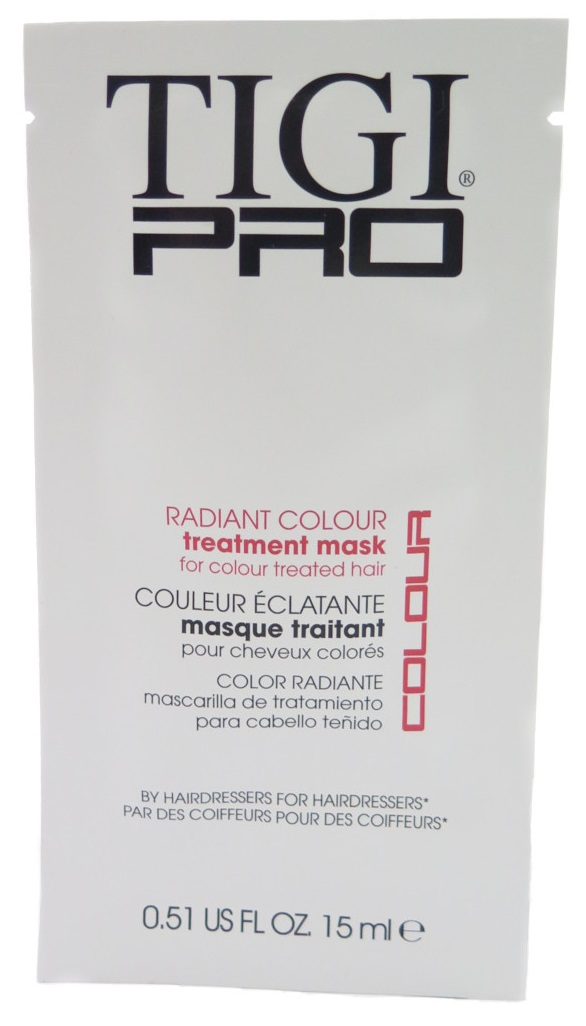 Tigi PRO Radiant Color Treatment Mask .51 fl oz 15mL