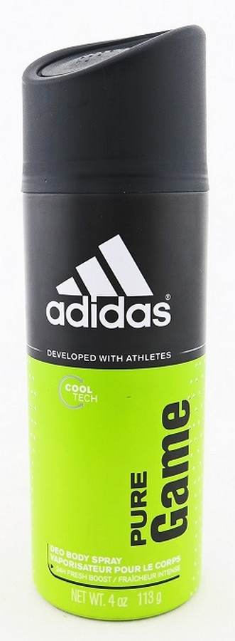 Adidas Deo Body Spray Pure Game 4 oz