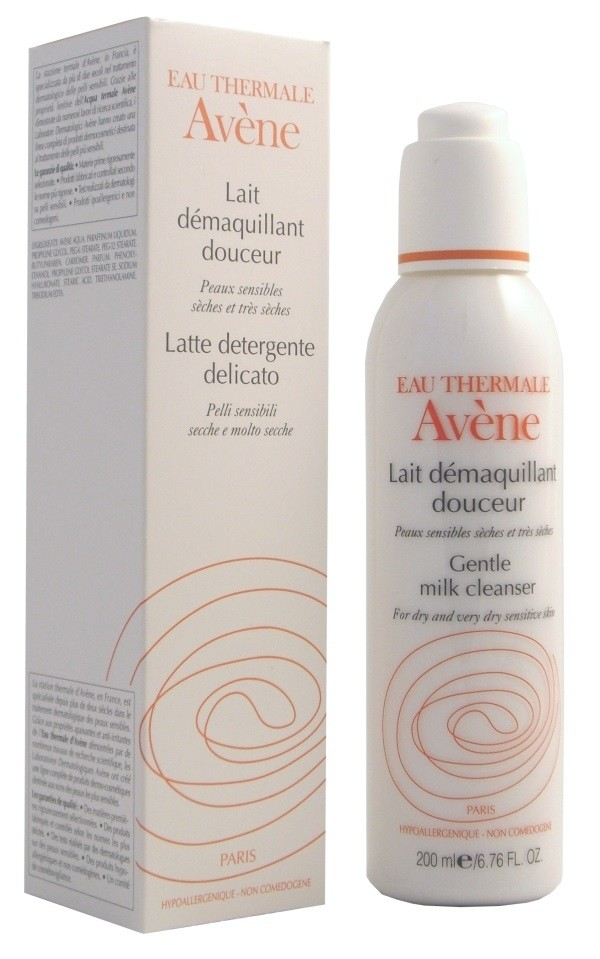 Avene Gentle Milk Cleanser (Lait demaquillant douceur) 200 ml