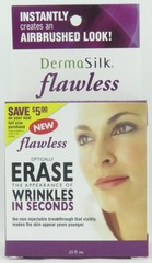 DermaSilk Flawless Erase Wrinkles In Seconds .25 oz