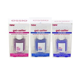 Essie Gel Setter 3D Pop Tints - Assorted