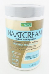 nuNaat Cream Goat Milk & Brazil Nut Absolute Volume Control 1 Kg