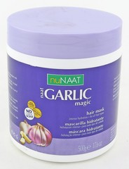 nuNaat Garlic Magic Mask. Intense Hydration, For All Hair Types 17.6 oz