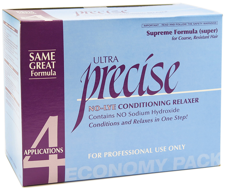 Soft Sheen Carson Ultra Precise No Lye Supreme Relaxer (Economy Pack)